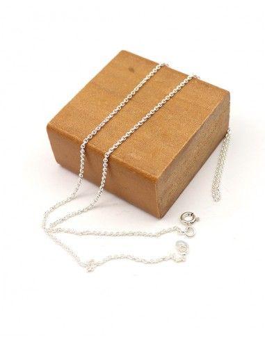 Chaine argent fine - Mosaik bijoux indiens