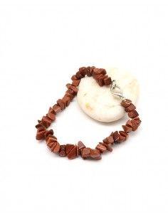 Bracelet pierres de soleil concassées - Mosaik bijoux indiens