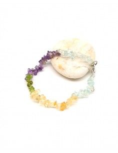 Bracelet en pierres concassées