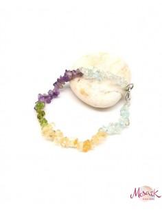 Bracelet pierres naturelles - Mosaik bijoux indiens