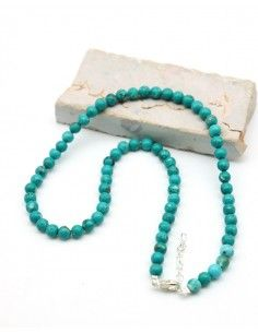 Collier turquoise pierres...