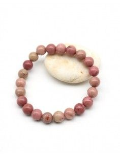 Bracelet rhodochrosite - Mosaik bijoux indiens