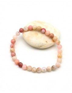 Bracelet opale rose - Mosaik bijoux indiens