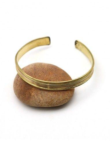 Bracelet fin doré - Mosaik bijoux indiens