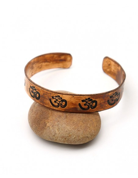 Bracelet fin en cuivre - Mosaik bijoux indiens