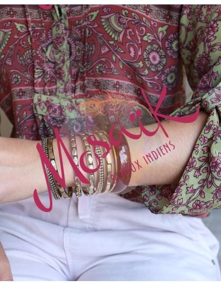 Lot de joncs - Mosaik bijoux indiens
