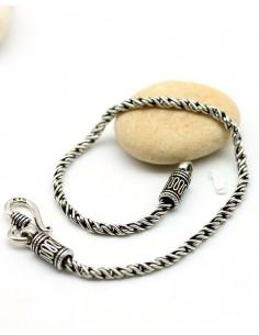 Bracelet homme argent - Mosaik bijoux indiens