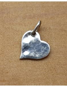 pendentif coeur en argent - Mosaik bijoux indiens