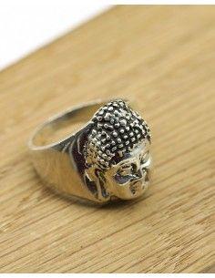 Bague argent bouddha - Mosaik bijoux indiens