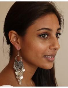 boucle d'oreilles pampille - Mosaik bijoux indiens 2