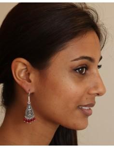 Boucle d'oreille indienne ethnique - Mosaik bijoux indiens 2