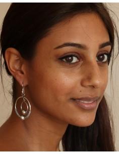 boucle d'oreille indienne - Mosaik bijoux indiens 2