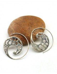 petite créole spirale - Mosaik bijoux indiens