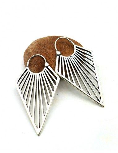 créole triangle - Mosaik bijoux indiens