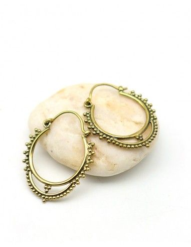 Petite créole dorée - Mosaik bijoux indiens