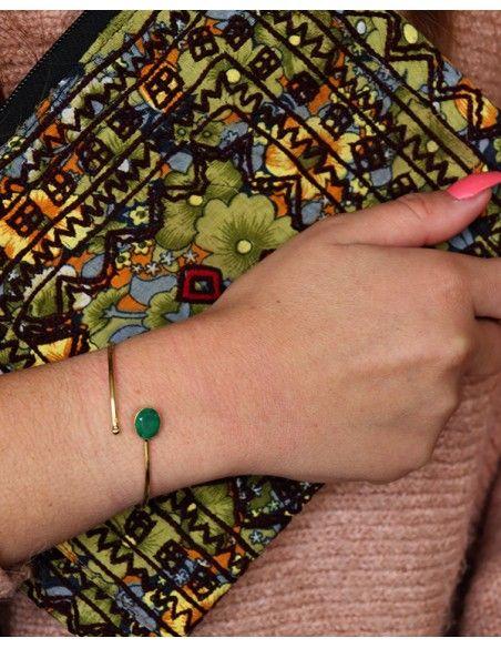 Bracelet doré - Mosaik bijoux indiens
