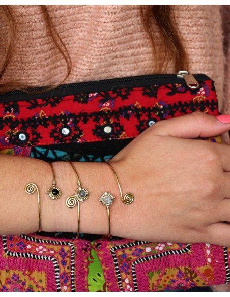 Jonc laiton - Mosaik bijoux indiens