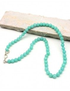 Collier amazonite - Mosaik bijoux indiens