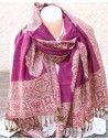 Etole violette à ramages - Mosaik bijoux indiens