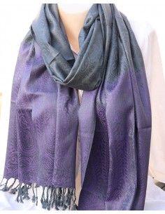 etole grise et violette - Mosaik bijoux indiens
