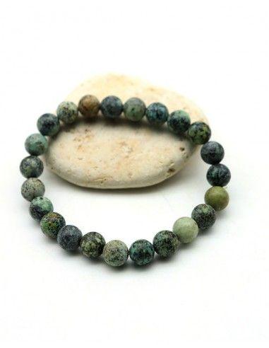 Bracelet turquoise verte - Mosaik bijoux indiens