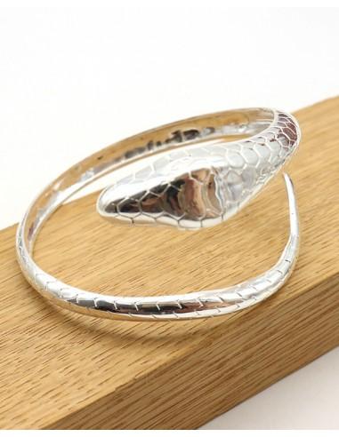 Bracelet tête de serpent - Mosaik bijoux indiens