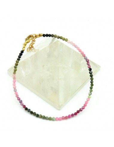 Bracelet tourmaline - Mosaik bijoux indiens