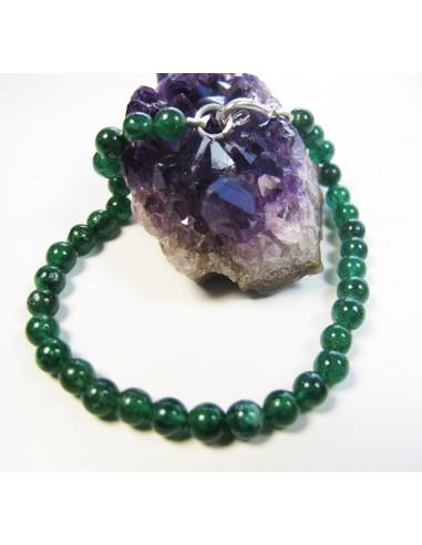 bracelet aventurine perles rondes