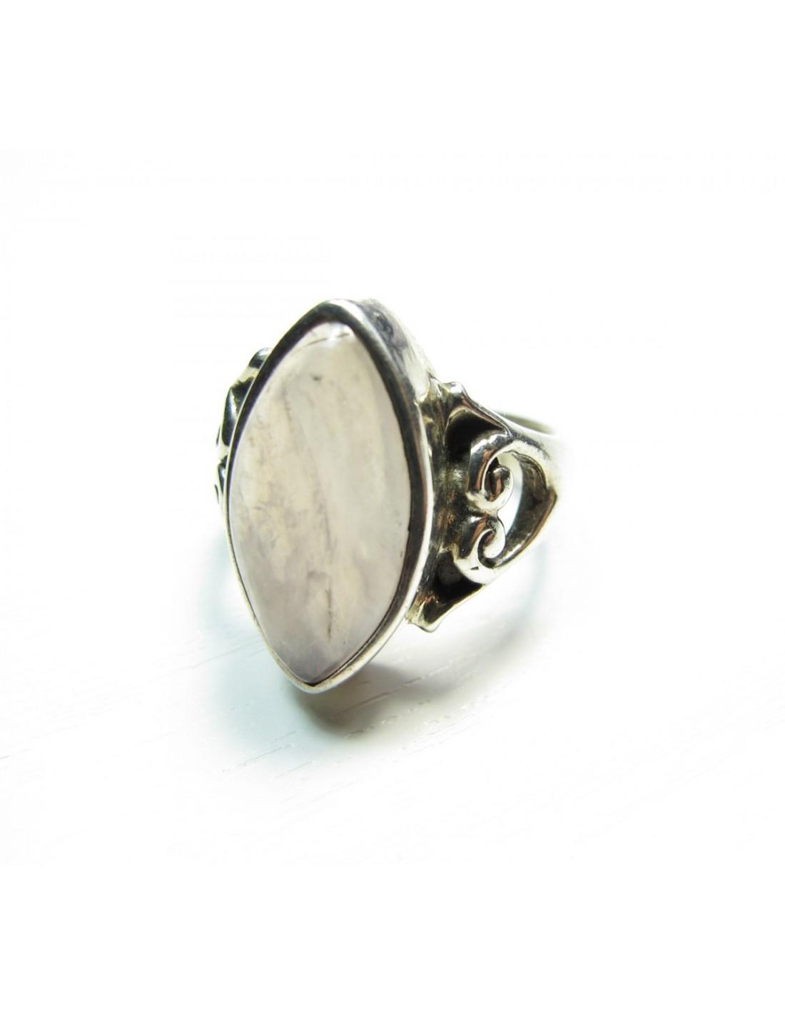 bagues en argent taille 52 et pierres de quartz rose vente de bijoux ethnique. Black Bedroom Furniture Sets. Home Design Ideas