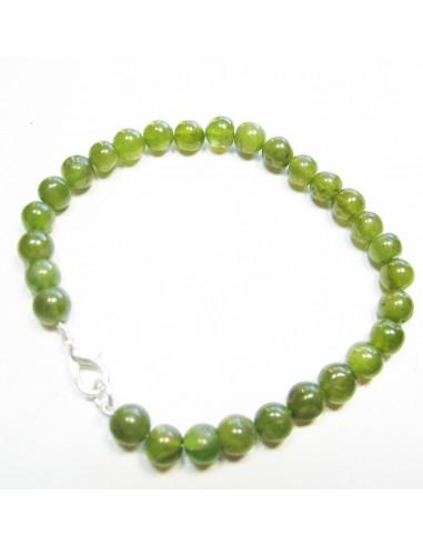 bracelet vesonite perles rondes 7mm