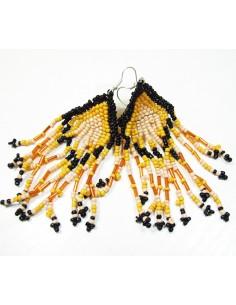 boucles jaunes et noires