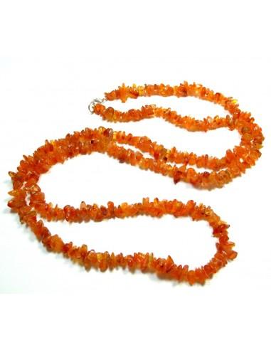 collier en cornaline long