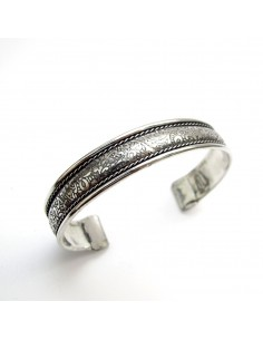 bracelet métal argenté 2