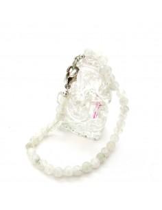 bracelet pierres de lune rondes 5mm