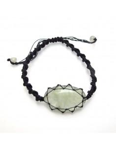 bracelet en prynite à noeud coulissant