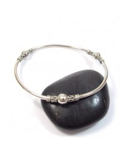bracelet jonc boules diam 7cm