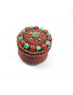 boite à bijoux à perles berbères 2
