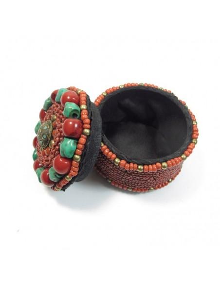 boite à bijoux à perles berbères