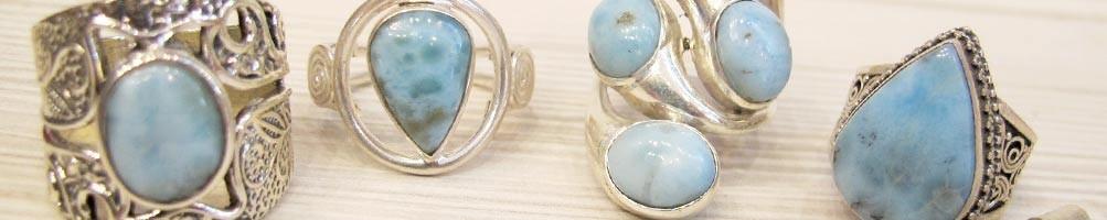 Bijoux en Laremar sur argent, collier, bracelet | Boutique Mosaik