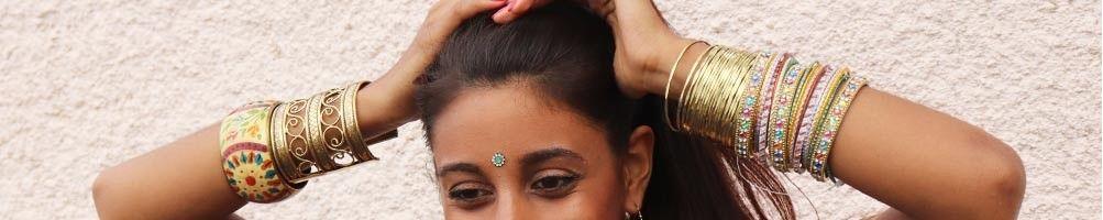 Bracelets et manchettes ethniques &colorés d'Inde | Boutique Mosaik