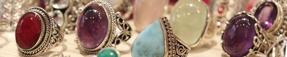 Bagues argent & ethniques d'Inde | Boutique Mosaik bijoux indiens
