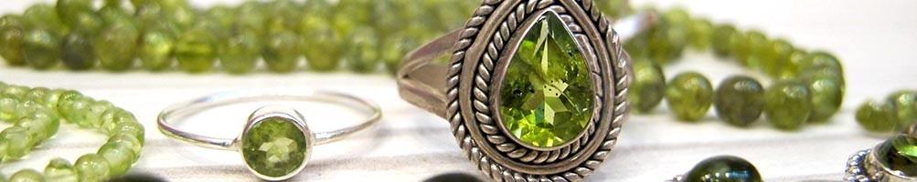 Bijoux péridot - Mosaik bijoux indiens