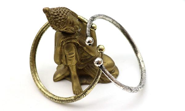 bracelet bras métal