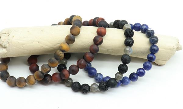 Bracelets homme pierres naturelles