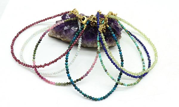 Bracelets pierres taillées