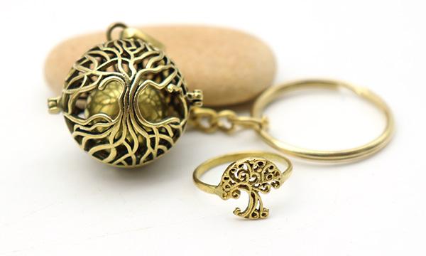 bijoux arbre de vie laiton