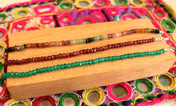 bracelet pierre taillée