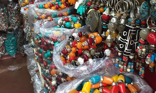bijoux tibetains en Inde