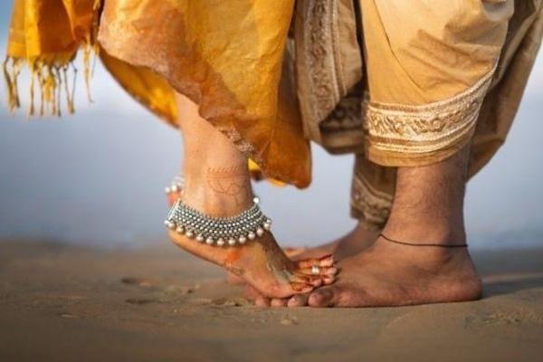 bracelet de cheville Inde