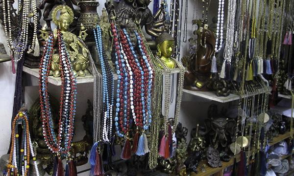 colliers mala en perles
